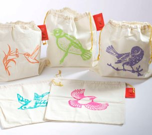 Custom cotton drawstring bags